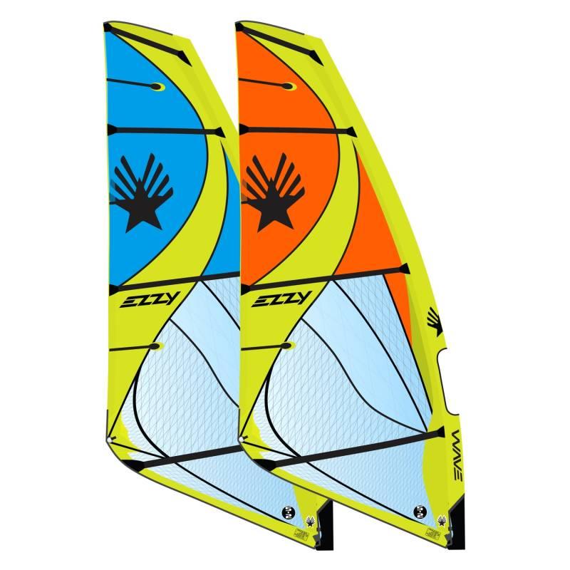 Windsurfen 2021 Ezzy Wave 4 Latten Wave Segel