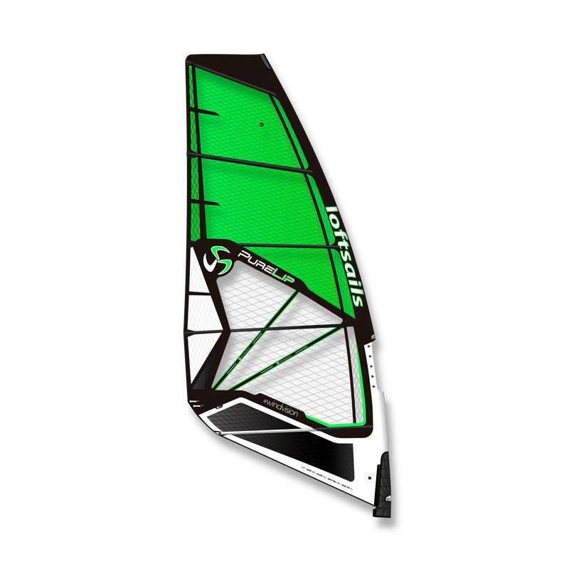 Windsurfen 2021 Loftsails Purelip Hardcore Wave