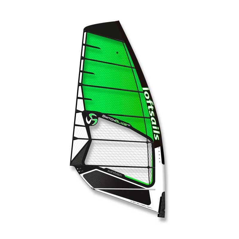 Windsurfen 2021 Loftsails Switchblade 3 Cam Freerace