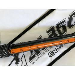 Windsurfen AL360 RDM/Skinny Carbon Verlängerung