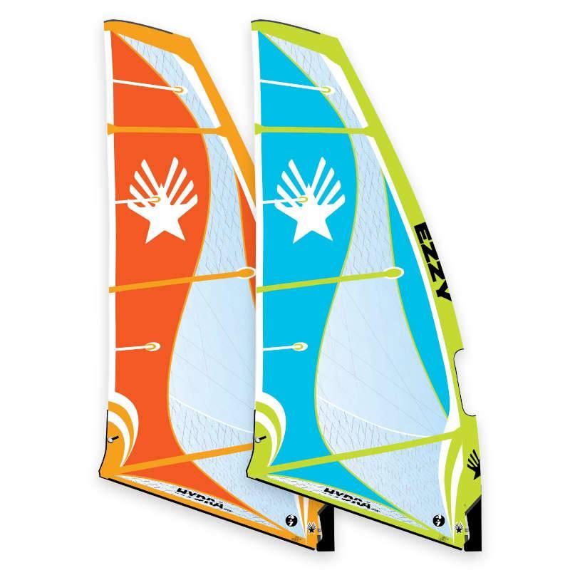 Windsurfen 2020 Ezzy Hydra Sport Foil und Freeride 5.7